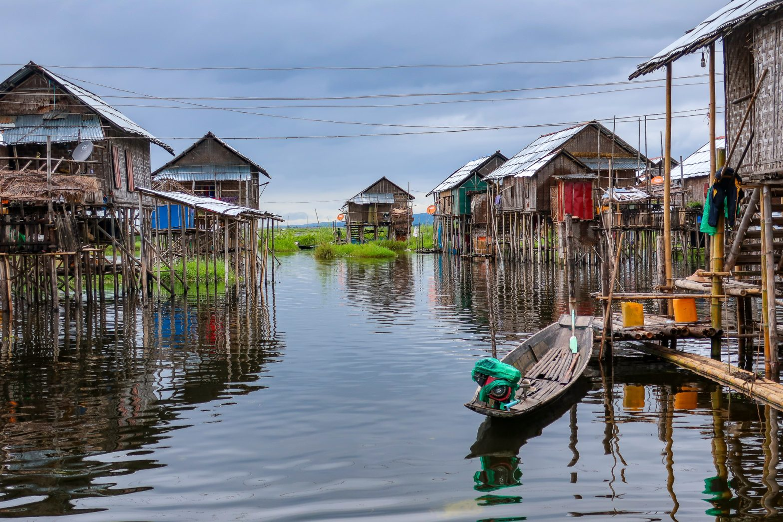 TWO DAYS AT THE LAKE INLE